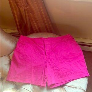 INC hot pink Bermuda shorts